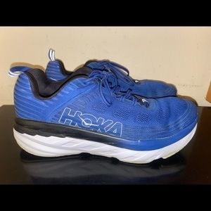 Hoka One One Bondi 6 Running Shoes Size 12 2E Wide